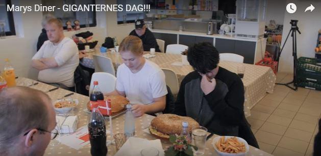 Marys Diner – GIGANTERNES DAG!!!