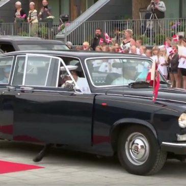 Dronningen på Besøg i Nakskov
