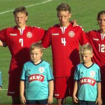U17 landskamp i Nakskov 2016