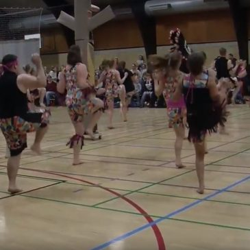 Gymnastikopvisning i Rødby