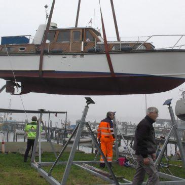 Bådelauget Rosnæs – Standerhejsning 14. april 2018
