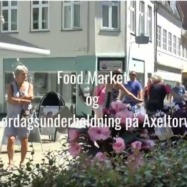Food Market og Lørdagsunderholdning på Axeltorv
