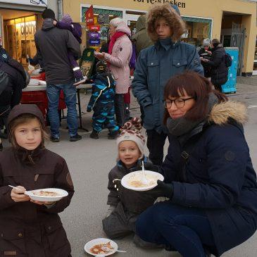 Risengrød på Axeltorv i Nakskov