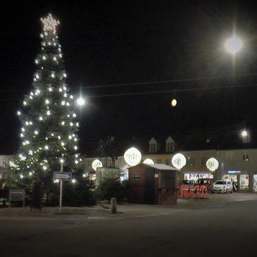 Juleoptog og Juletræstænding i Nakskov 2018