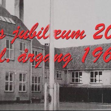 Skolejubilæum 9. kl. årgang 1969