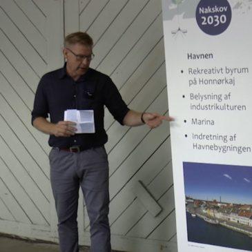 Reception og info møde om Nakskov 2030