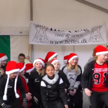Helles danseskole julebyen 3 dec. 2016