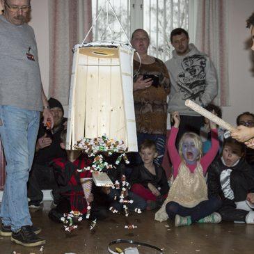 Fastelavnsfest i Kastager forsamlingshus