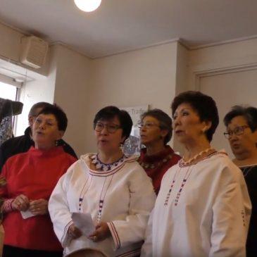 500 års fællessang, sang i  byens forretninger