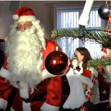 Juletræsfest i Kastager Forsamlingshus