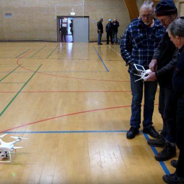 Drone kursus i Rudbjerg hallen