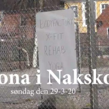 Corona i Nakskov, søndag den 29-3-20