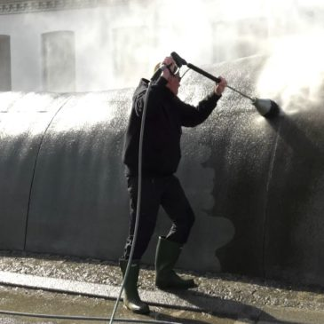 BØLGEN i Nakskov bliver renset