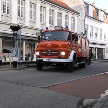 Brandmuseet vasker vej
