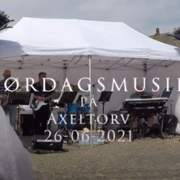 Lørdagsmusik på Axeltorv i Nakskov